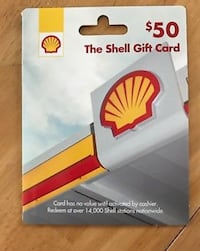Shell gas card Inverness, 34450