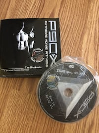 P90X Work out DVD almost New !!! Toronto, M2J 4S5