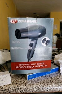 Hair dryer like new $10 pickup only  Mississauga, L5A 1W7