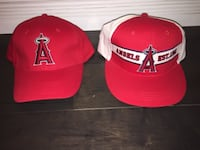 New Los Angeles Angels hats CALGARY