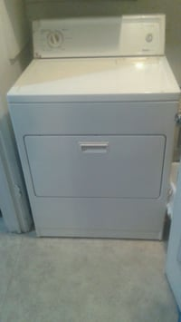 white front-load clothes dryer 2357 mi