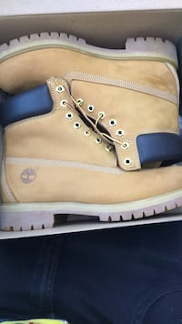 "6"" size 10 Timberland premium boots timbs Washington, 20036"