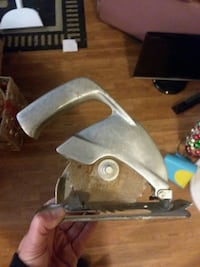 Vintage Hand Saw for drill