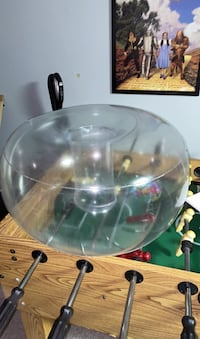 Blow up bubble chair