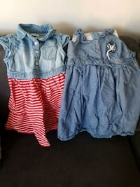 4t girls denim dresses 7 each or 2 for 10 Coquitlam, V3B 8A6