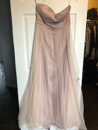 Brand new strappless dusty rose gown. Size large  Barrie, L4N 6B5
