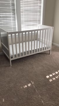 Convertible crib/jr bed two available $25 each 34 km