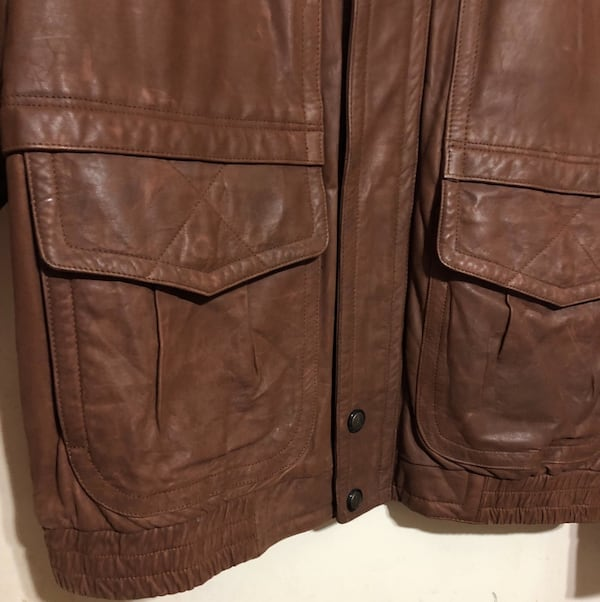 LONDON FOG LEATHER JACKET MEN'S 1X SEND YOUR BEST OFFER e896f091-000f-4754-b7a9-b018dec96708