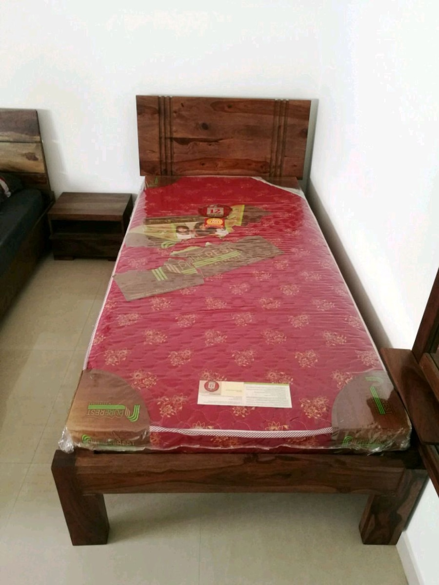 used single cot bed with mattress for sale in hyderabad letgo rh gb letgo com