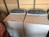 Whirlpool electric washer & dryer set Indianapolis, 46227