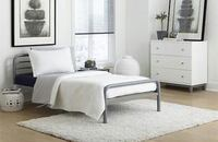 Twin platform bed frame in factory box Fishers, 46038