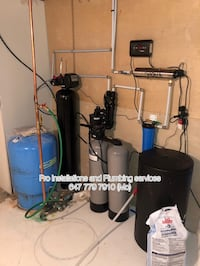 Pro Water system installations service Toronto