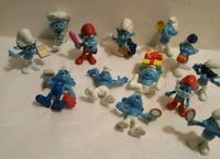 Smurf figures $6 for all  London, N6H 1T5