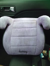 Baby's purple harmony booster seats Gently used and freshly washed:) Dartmouth, B2W 4B3