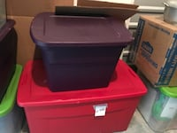 red and black plastic chest Oxnard, 93033
