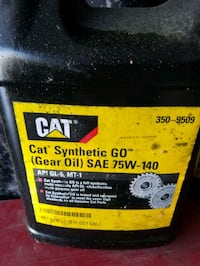 Cat Gear Oil 75w-140 approx 2 Gal. Havertown, 19083