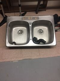 Double Stainless Steel Sink , L2G 0B9