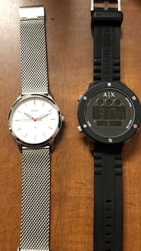 two black and silver-colored analog watches Dallas, 75287