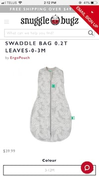 Sleep sack BNWT only 25$ Toronto, M4C