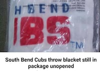 south bend cubs throw blanket South Bend