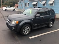 2008 FORD ESCAPE XLT, 6 CYL. 4WD - MILES: 124463 Coventry