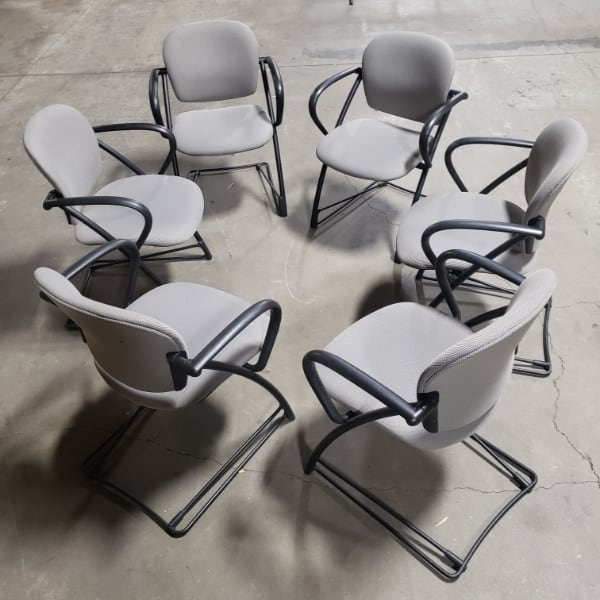 Light Grey Office Chairs For Sale!