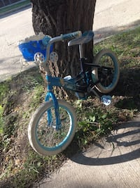 Toddler's blue and white bicycle .size .16 Winnipeg, R2M 3B7