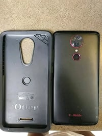 black LG android smartphone with case Washington, 20032