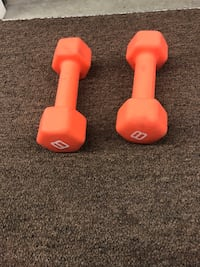 8 pound weights Calgary, T2Z 4H8