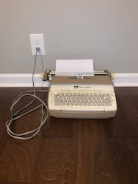 Smith and Corona Electric Typewriter