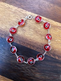 Evil Eye bracelet, Turkish Glass Bead, From Turkey