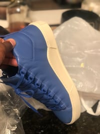 Pair of blue-and-white sneakers Suitland, 20746