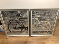 Framed Bicycle prints Mount Albert, L0G 1M0