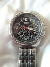 round silver Michael Kors chronograph watch with l Abilene, 79606