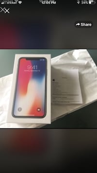 Space gray iphone x box Gwynn Oak, 21207