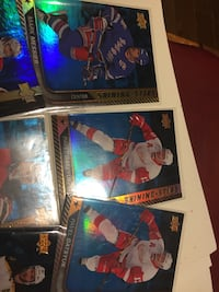 2014-15-16 Upperdeck Shining Stars lot of 6 New Tecumseth, L9R