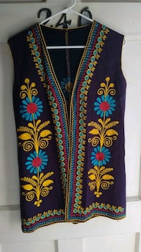 blue and yellow floral textile Banning, 92220