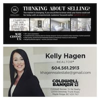 Real Estate Agent Aldergrove