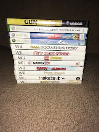 assorted Xbox 360 game cases Grampian, 16838