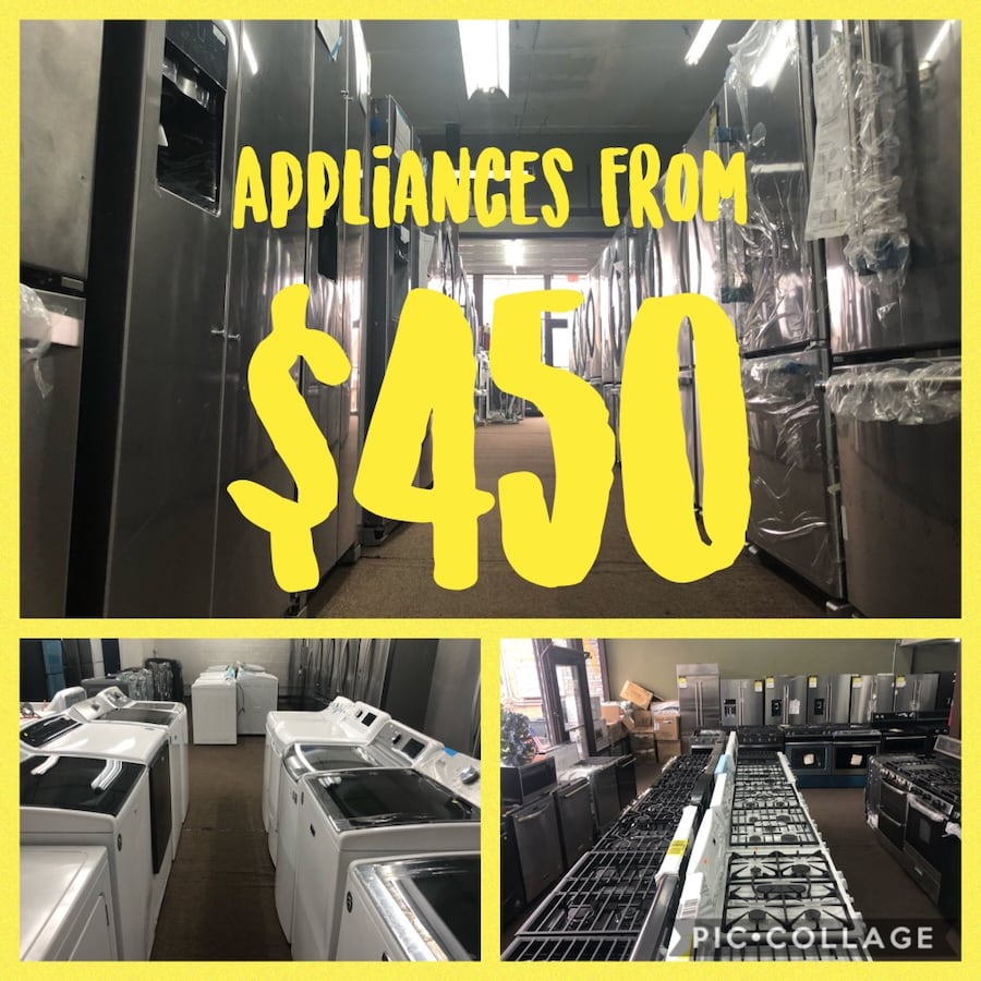 Appliances sale from