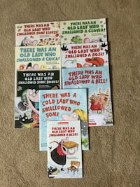 """Children's Books from """"There Was An Old Lady Who Swallowed A Fly"""" Series Hopewell Junction, 12533"""