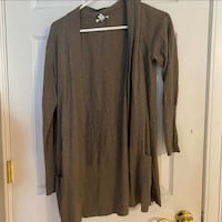 Grey/Brown Cardigan