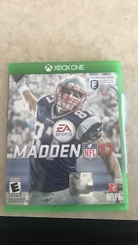 Madden NFL 17 Xbox One game case Oregonia, 45054