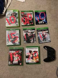 Xbox 1 games Cambridge, N3C 4L7