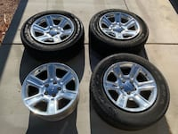 Ram 1500 rims and tires Henderson