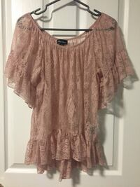 Lace blouse size M New Westminster
