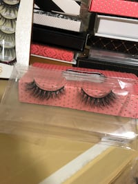 3D mink lashes high quality Toronto