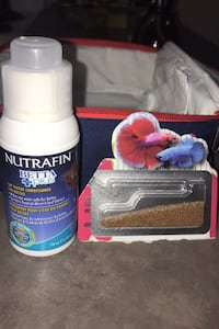 Fish food and water conditioner
