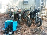 Lot of xs650 bikes and parts St. Augustine