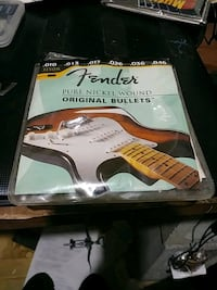 Fender 10s guitar strings with ball $5 Fairfax, 22032